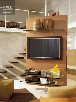 17 best images about room divider tv stands on pinterest - Best size flat screen tv for living room ...