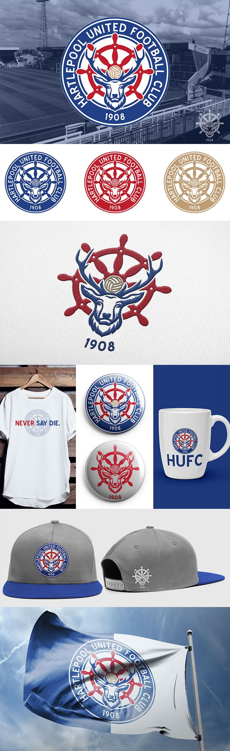 Hartlepool United FC - Crest Concept by Nick Budrewicz