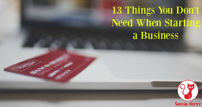 There are certain things you DON'T need to spend precious resources on when starting a new business. As business owners we focus on what everyone will be thinking and that we need to give a good impression, so I decided to compile a list of expenses you will not need to invest in when starting out.  You DON'T need to impress everyone, not your family or your friends, however you do need to WOW your potential customers.