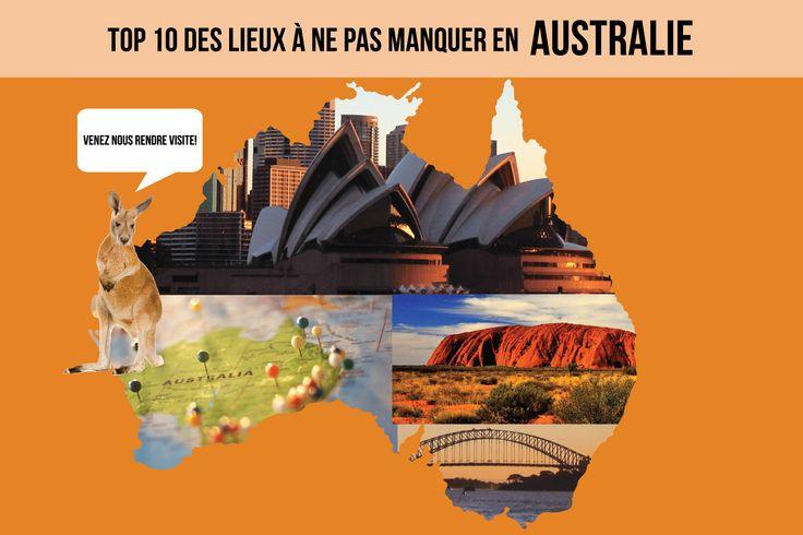 Découvrez les nombreuses expériences qui vous attendent en Australie! C'est parti! ;)