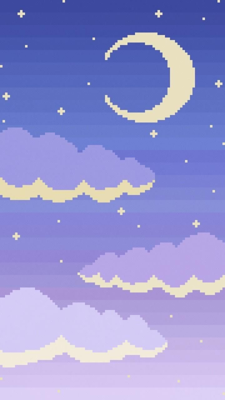 Download Pixel Sky Wallpaper By Sarchotic Now Browse Millions Of Popular Aesthetic Wallpapers And Rin Goth Wallpaper Pixel Art Background Aesthetic Wallpapers
