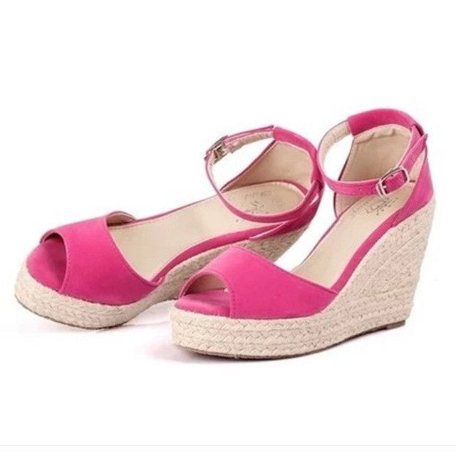 9e0d6913aaeac Superior Quality Summer style comfortable Bohemia platform Wedges sandals  for Lady shoes high platform open toe