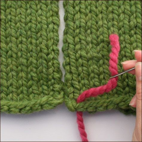 Three-Needle Bind-Off
