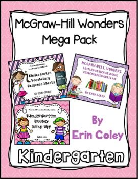 This MEGA Buncle includes all of the Kindergarten McGraw-Hill Wonders Resources that I have made thus far in a big bundle! This bundle includes the Vocabulary Response Bundle, Leveled Reader Response Bundle, and Weekly Wrap Ups at a discounted price. This is a zip file, so make sure you have the software to open it! :) If you have any questions please e-mail me at coleyinkinder@gmail.com or visit my blog at www.alibraryandgarden.blogspot.com  Happy Teaching!