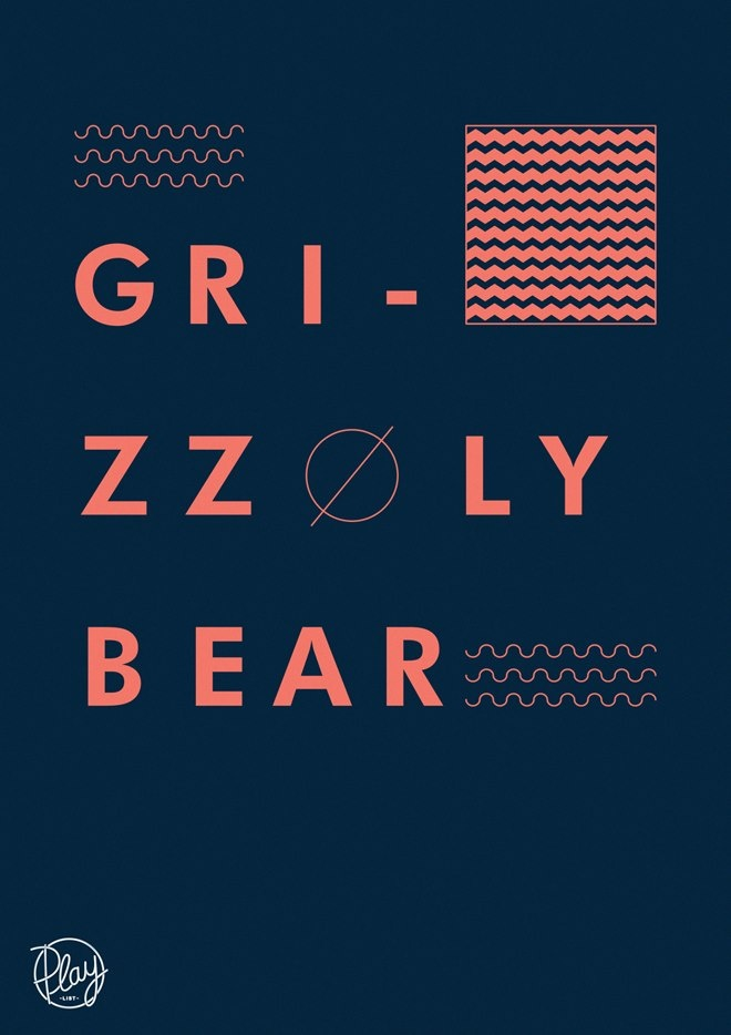 Band / Grizzly Bear. Title / Yet Again. Album / Shields. Where can I get this rad poster