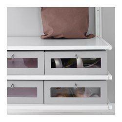 IKEA - ALGOT, Wandrail/planken/stang, De onderdelen van de ALGOT serie kunnen op diverse manieren worden gecombineerd en zijn daardoor eenvoudig aan te passen aan de behoefte en de ruimte.De consoles, planken en acccessoires hoef je alleen maar op hun plaats te klikken. Daardoor is het heel eenvoudig om je opbergoplossing te monteren, aan te passen en te veranderen.Geschikt voor gebruik in het hele huis, zelfs in vochtige ruimtes zoals de badkamer of op overdekte balkons.