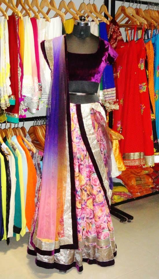 Indian#Bollywood fashion # ghagra choli # Vitamin by Sonalika # Sonalika Pradhan