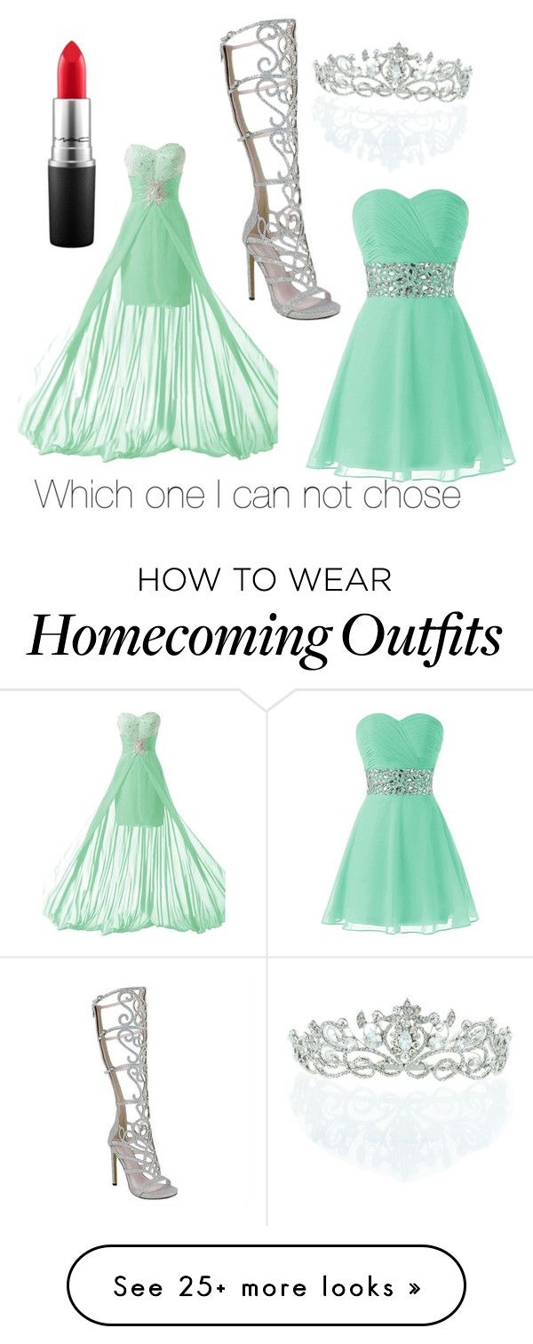 """""""I can't chose"""" by kc15-i on Polyvore featuring Kate Marie and MAC Cosmetics"""