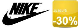 Pour l'automne la boutique officielle Nike est en solde jusqu'à -30%