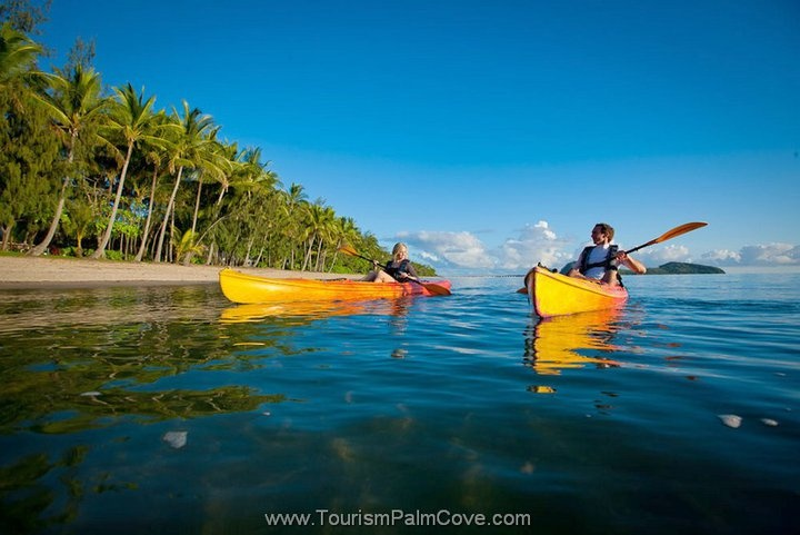 Kayaking Palm Cove Beach http://www.executiveretreats.com.au/