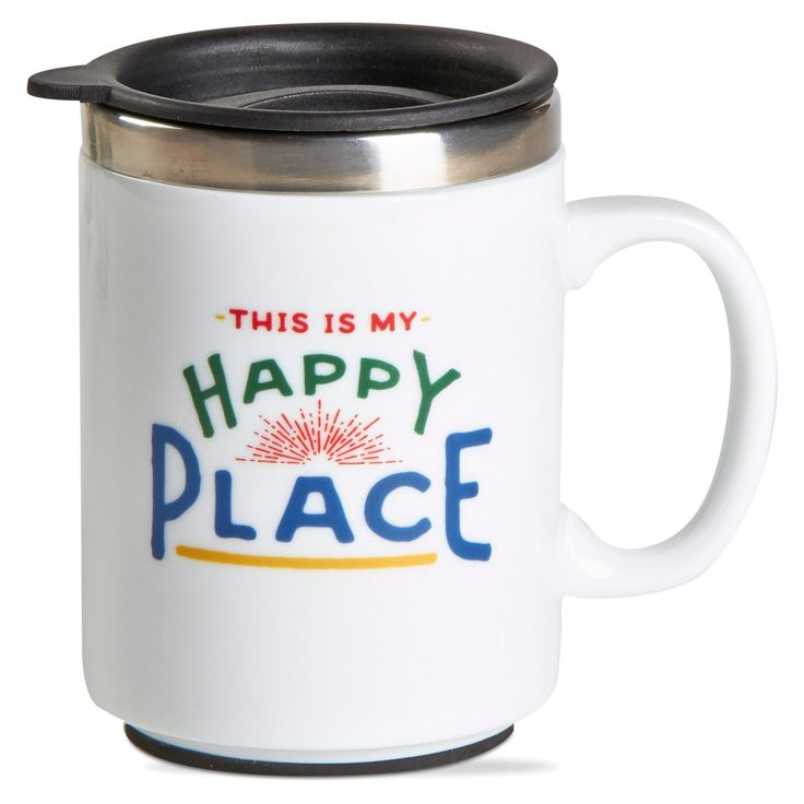 TAG Happy Place Insulated Travel Mug - TAG206981