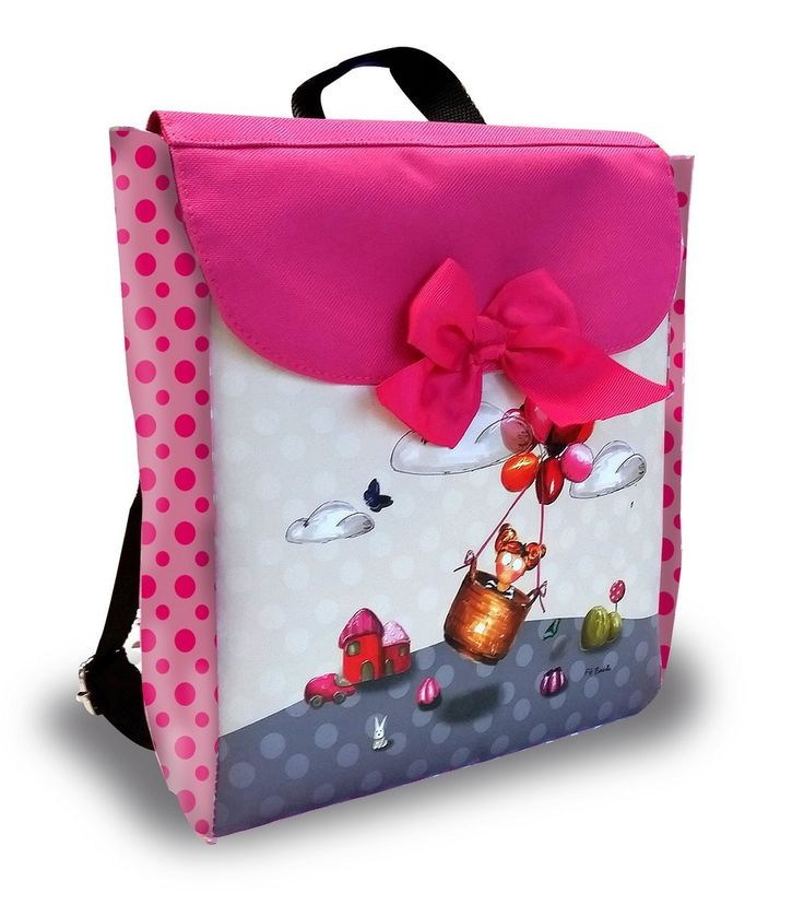 sac dos rose fifi ballon personnalisable ambiance rose pinterest ballon d 39 or et roses. Black Bedroom Furniture Sets. Home Design Ideas