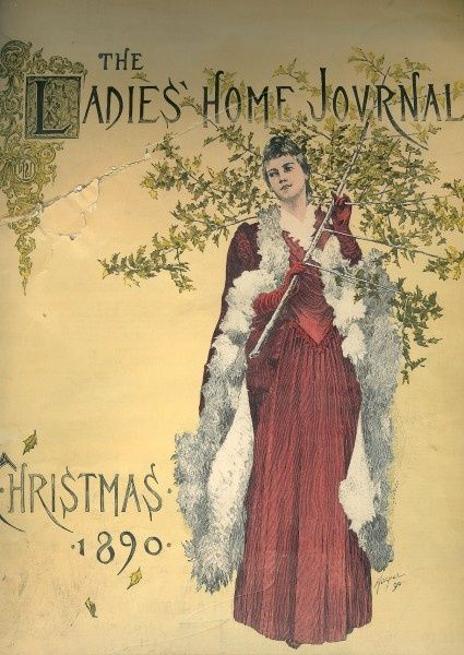 Leg o'mutton sleeves abound on this lovely Victorian ...  Victorian Magazine Covers