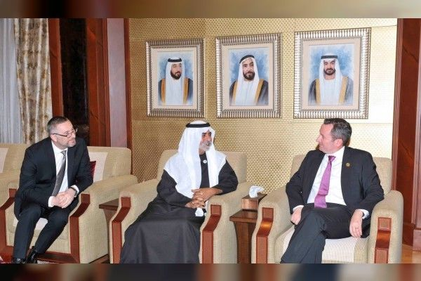 UAE & Western Australia discuss relations.  #UAE #WesternAustralia #relations #bilateralrelations  Image & Post Courtesy : http://wam.ae/en/details/1395302671383