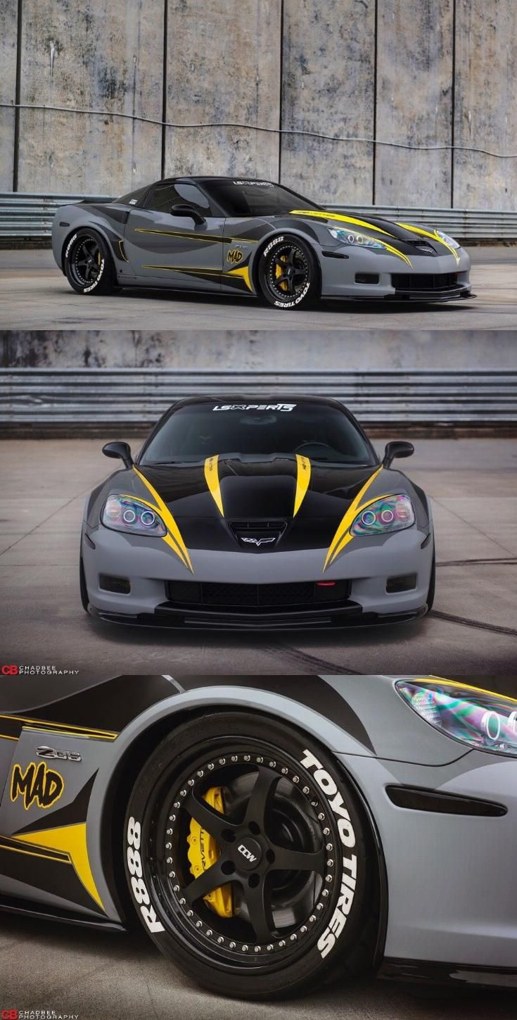 2008 Chevrolet Corvette Z06 Complete Custom Chevrolet Corvette