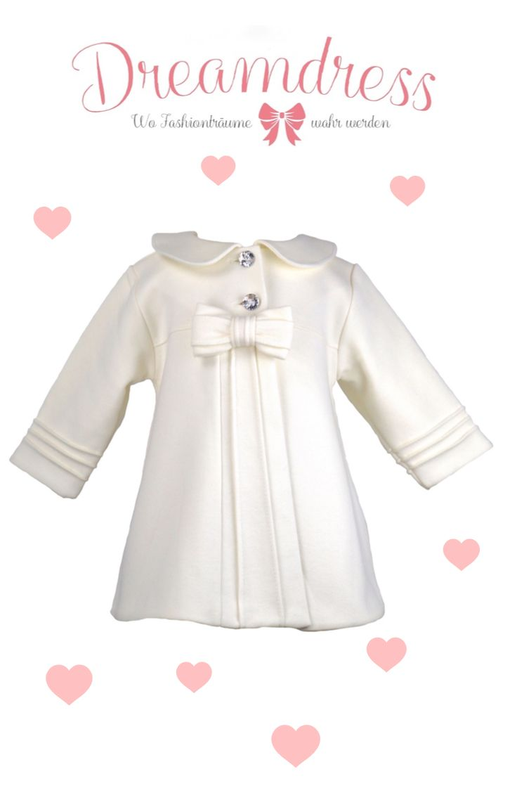 Babymantel! Exklusive Babymode gefunden auf Dreamdress.at! #baby #babyfashion #babymantel #babymode #babycouture