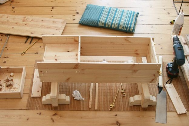 Japanese tools #14: Japanese toolbox - finish drawer, wood nails and final details. - by mafe @ LumberJocks.com ~ woodworking community