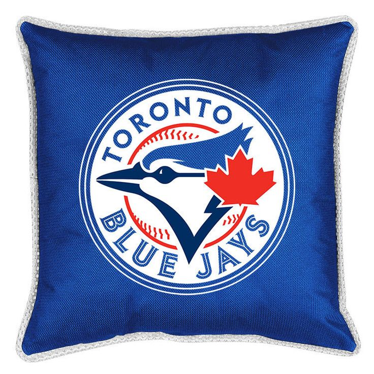 Tornoto Blue Jays MLB Sidelines Toss Pillow #SportsCoverage