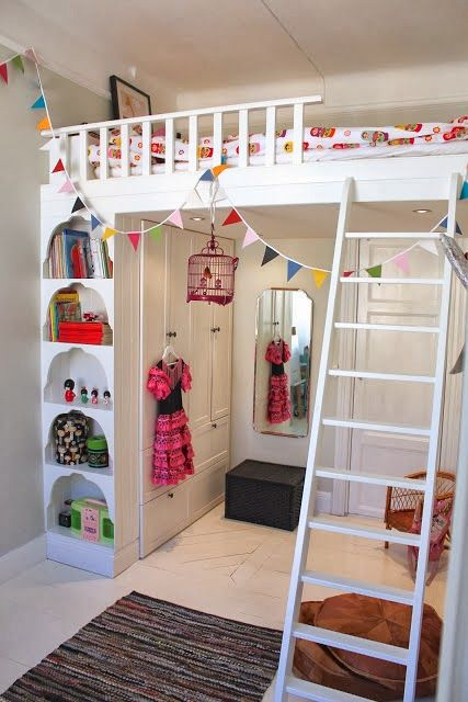 Inspirational Spaces: Loft Beds                                                                                                                                                                                 More