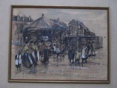 mooie-oude-aquarel--kermis-op-oostenburgereiland-amsterdam--omstreeks-1900