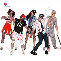#Disfraces divertidos de #Zombies 1 para grupos #Mercadisfraces tu #tienda de #disfraces online donde podrás comprar tus disfraces #baratos y #originales para tus fiestas de #carnaval. Amplio stock en tallas para #grupos y #comparsas.