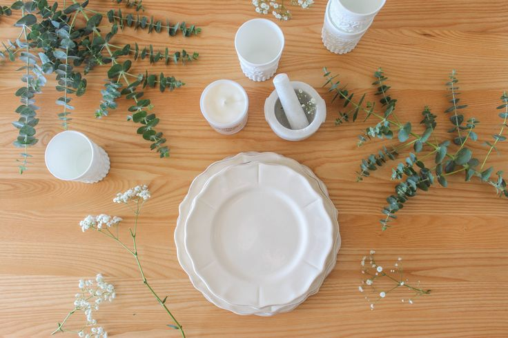 Dining room table Styling and Photography for Pony Lane