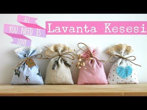 KENDİN YAP | LAVANTA KESESİ YAPIMI - YouTube