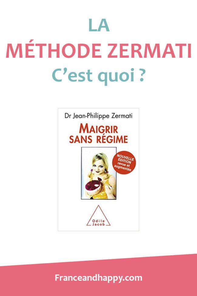 Je vous explique ce qu'est la méthode Zermati : son livre Maigrir Sans régime. Je vous détail la méthode et je vous donne mon avis.