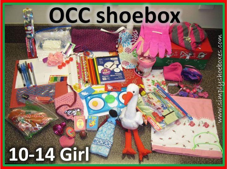 Shoe Box Idea For Girls 1014 Sweeeeet Gift Pinterest