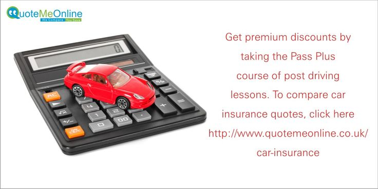 Get premium discounts by taking the #passpluscourse of post driving lessons. To compare #carinsurancequotes, click here http://bit.ly/1nnTOde