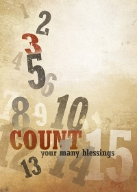 Count your blessings...name them one by one.: Quote, Blessed Nam, Blessings Nam