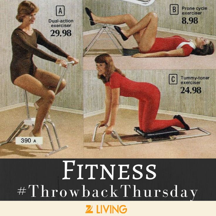 Laugh it up, but there's not a look here we wouldn't wear to #pilates. Pin if you're with us! #TBT || Z Living