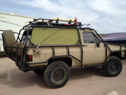 "1986 Chevy K5 Blazer CUSTOM 4x4 LS1 A/C Lifted 37"" Run Flat Tires, image 1"