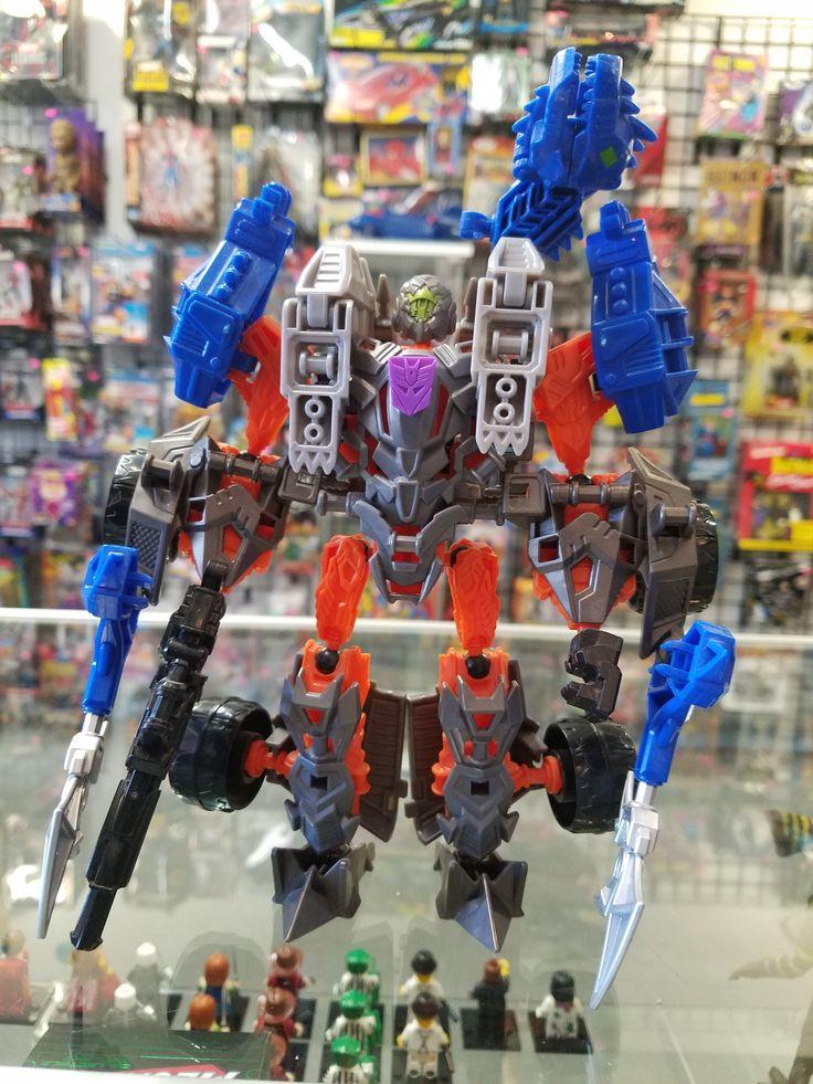 Transformers Construct-Bots Lockdown and Hangnail