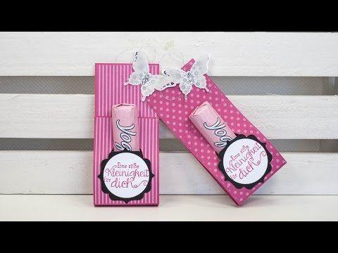 Matchbox für 2 Yogurette-Riegel mit Stampin' Up! - YouTube