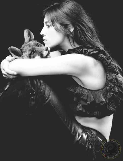 Charlotte Gainsbourg.