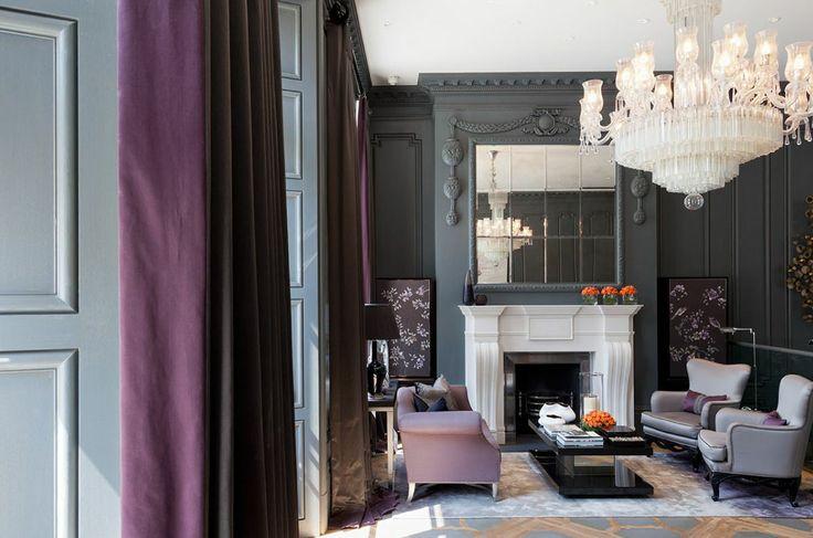 Hyde Park Lobby and Spa – Intarya.LIKE THE WHOLE CHIMNEY BREAST