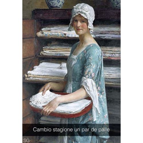 William Henry Margetson (1880) #seiquadripotesseroparlare #stefanoguerrera #…