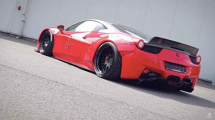 """""""How to Liberty Walk"""" – Vom normalen Ferrari zum Breitbau-Sportler. JP ist bekannt für seine interessanten Videos direkt aus seiner Tuning-Werkstatt. Als Auto-Narr kann man gerade bei ihm noch viel ... weiterlesen"""
