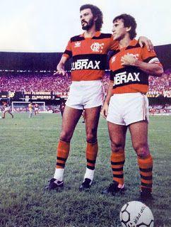 Histórias do Futebol: Sócrates e o amigo Zico, em um Fla-Flu de 1986