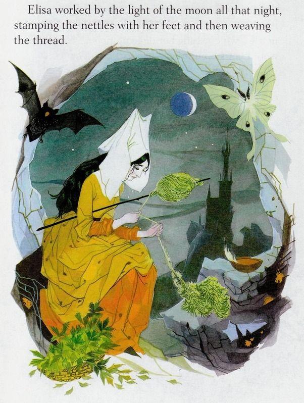 Https Www Quora Com Q Bookartillustrations Gordon Laites Illustrations For The Wild Swans In 2020 Illustration Fairytale Illustration Fantasy Illustration