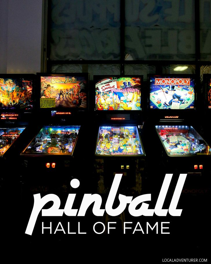 Las Vegas Pinball Museum - Pinball Hall of Fame