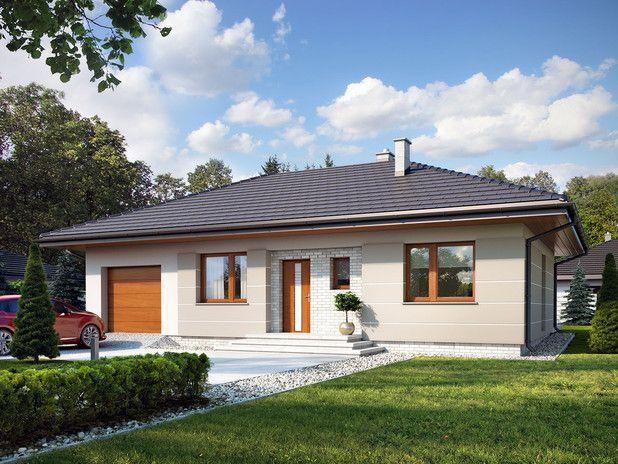 Przytulny, ekonomiczny, niewielki dom zaplanowany z myślą o zapewnieniu wygody trzyosobowej rodzinie. Idealny w programie #MdM. Zobacz więcej!
