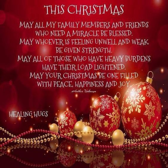 Merry Christmas Wishes Families For Friends, Family, Wife