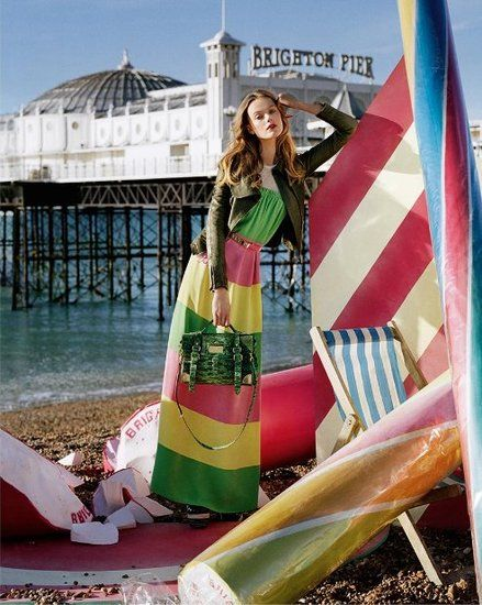 Mulberry S/S 2012 Ad Campaign