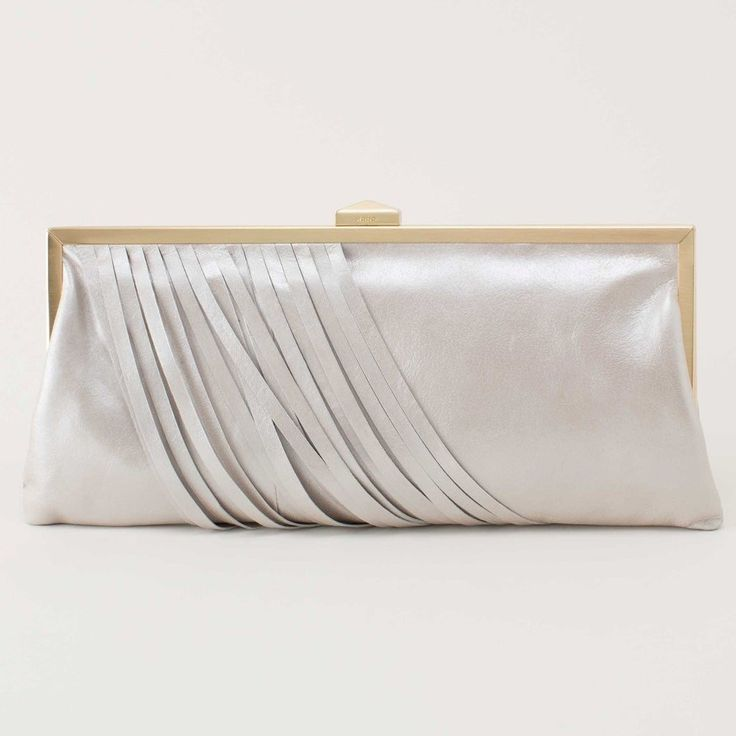 Leather Statement Clutch - Afternoon Leather Clutch by VIDA VIDA b3YASfMBLm