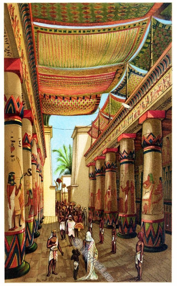 Ancient Egyptian Costume And Fashion History Decoration Coloring Life In Ancient Egypt Ancient Egyptian Architecture Ancient Egypt Art