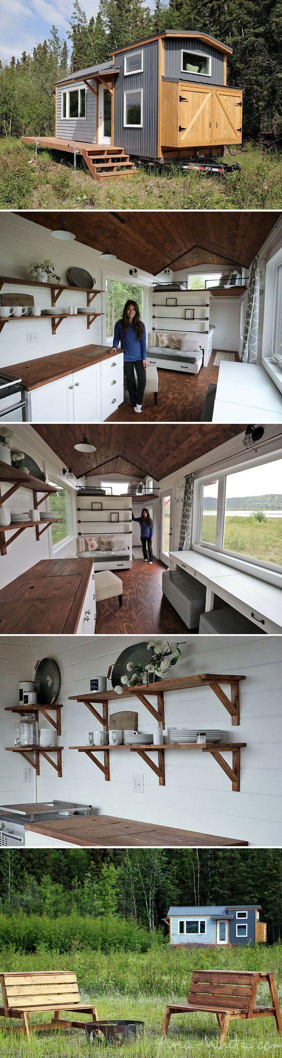 Ana White | Quartz Tiny House - Free Tiny House Plans - DIY Projects