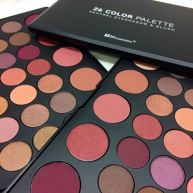BH Cosmetics, Did you know our 26 Shadow Blush Combo Palette is...