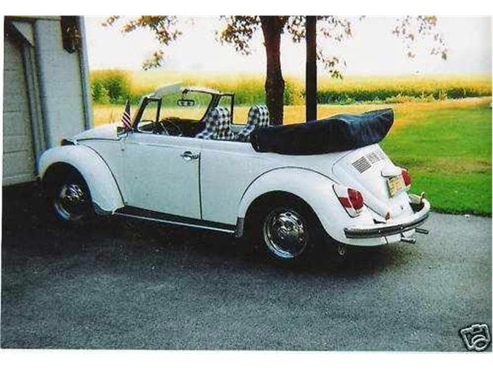 paint colors for vintage vw bugs | Volkswagen Beetle Classic Convertible | Usedcarpost.net Cars For Sale  I love the checkered interior.